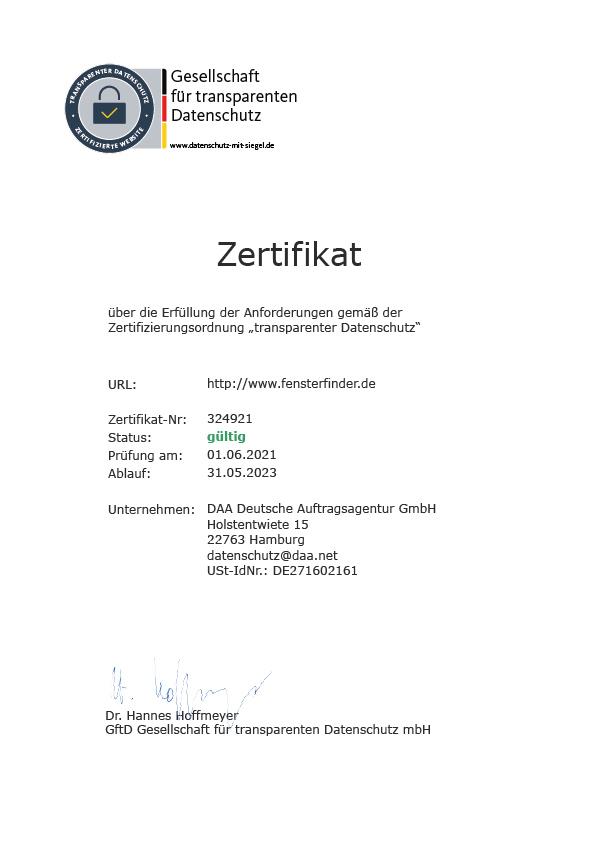Zertifikat Centogene